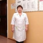 Старшая медсестра МСУ Денисова Маргарита Трофимовна